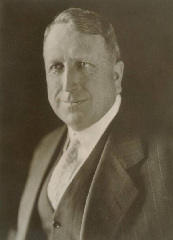 William Randolph Hearst en 1910