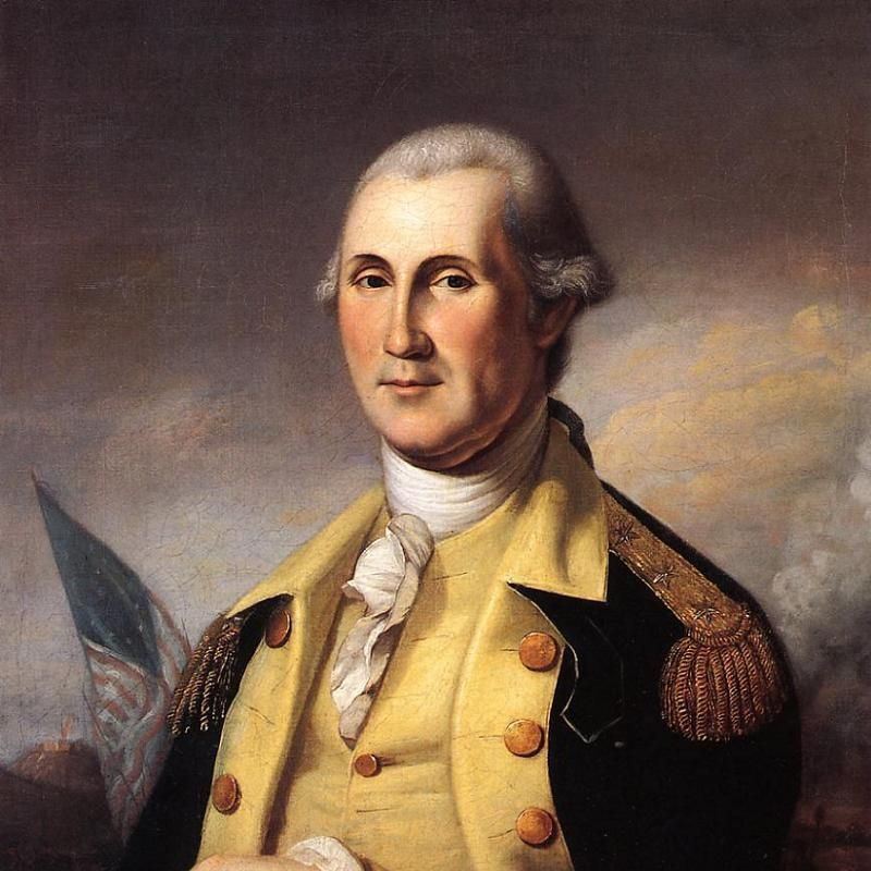 Retrato uniforme de George Washington