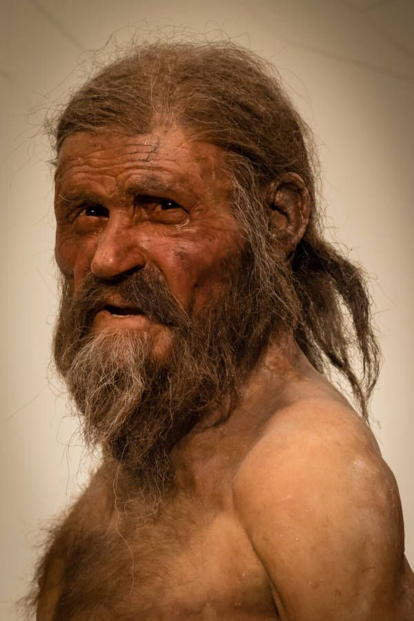 Otzi The Iceman Recreación